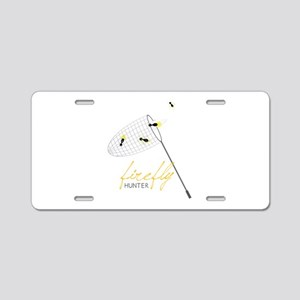 Firefly Hunter Aluminum License Plate