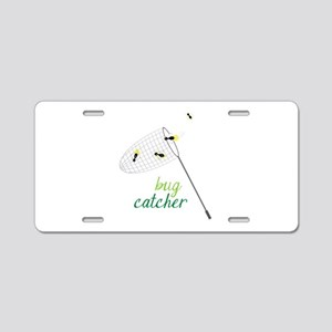 Bug Catcher Aluminum License Plate