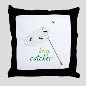 Bug Catcher Throw Pillow