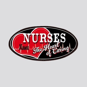 Nurse Caring Heart Patches