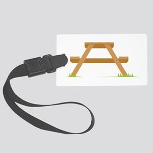Picnic Table Luggage Tag