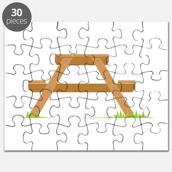 Picnic Table Puzzle