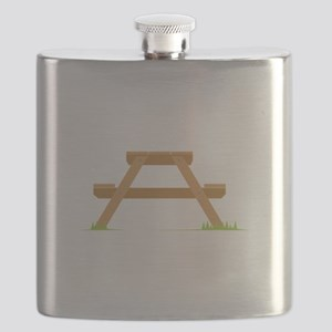 Picnic Table Flask