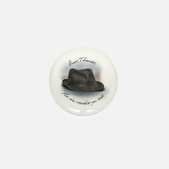 Hat for Leonard 1 Mini Button
