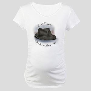 Hat for Leonard 1 Maternity T-Shirt