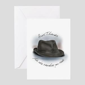 Hat for Leonard 1 Greeting Card