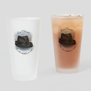 Hat for Leonard 1 Drinking Glass