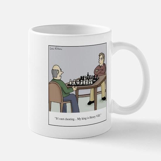 Chess like Henry VIII Mug