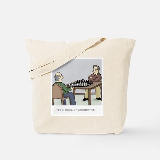 Chess like Henry VIII Tote Bag