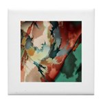 Amazing Artistry Fractal Tile Coaster
