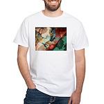 Amazing Artistry Fractal White T-Shirt