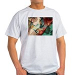 Amazing Artistry Fractal Ash Grey T-Shirt