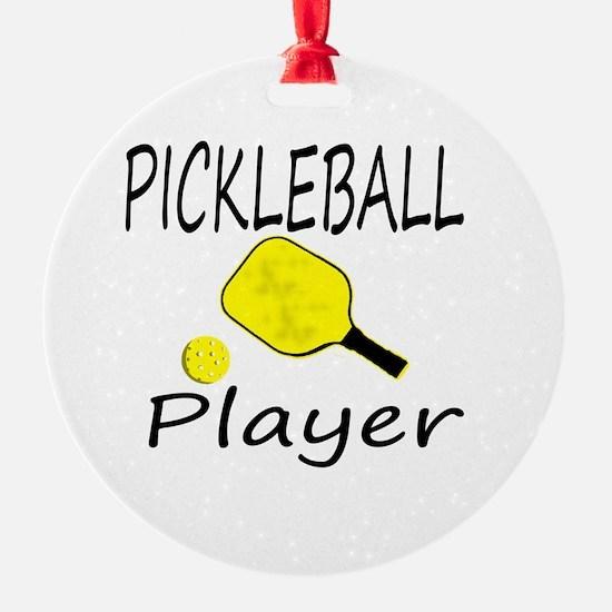 Unique Pickleball Round Ornament