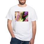 Dazzling Designs Fractal White T-Shirt