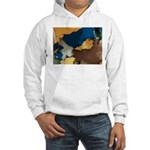 Vibrant Variations Fractal Hooded Sweatshirt