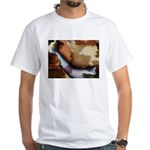 Colorful Creations Fractal White T-Shirt