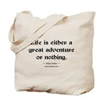 Life Adventure Tote Bag
