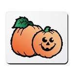 Halloween Art Pumpkin Mousepad