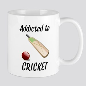 Addicted To Cricket Mugs