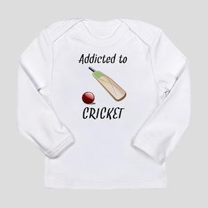 Addicted To Cricket Long Sleeve T-Shirt
