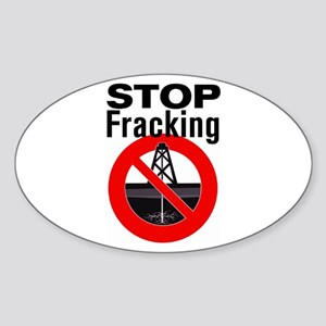 Stop Fracking Sticker