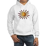 Nature Art Blazing Sun Hooded Sweatshirt