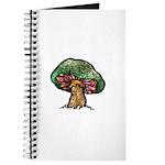 Nature Art Mushroom Design Journal