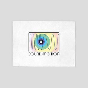Sound Motion 5'x7'Area Rug