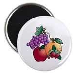 Nature Art Fruit Design Magnet