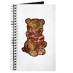 Whimsical Art Thinking Bear Journal