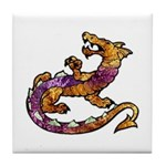 Dragon Art Tile Coaster