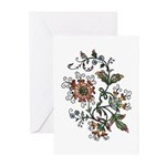 Beautiful Floral Art Design Greeting Cards (6)