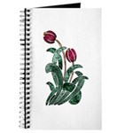 Ruby Red Floral Art Journal