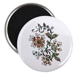 Beautiful Floral Art Design Magnet (10 pk)