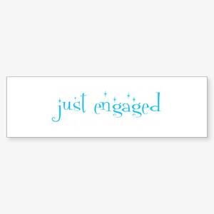 just engaged Bumper Sticker