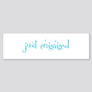 just engaged Bumper Sticker