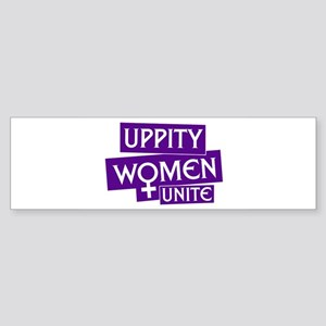StickerRectangular_uppity Bumper Sticker