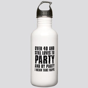 Over 40 Party Water Bottle