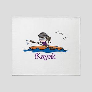 iKayak Throw Blanket