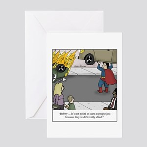 Differently Abled Greeting Card