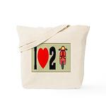 I Heart 2 Scoot Tote Bag