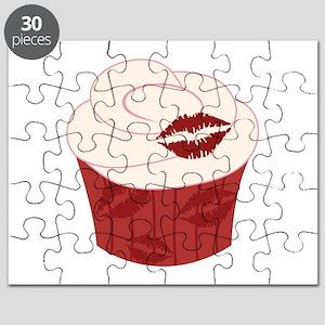 Lipstick Cupcake Puzzle