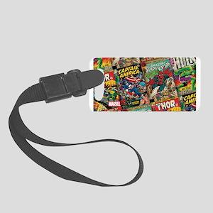 comic Small Luggage Tag