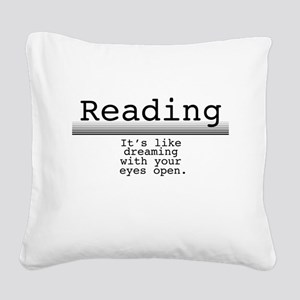Dreaming Square Canvas Pillow