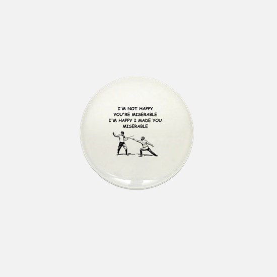 Cute Epee Mini Button