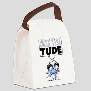 Shih Tzu Tude Canvas Lunch Bag