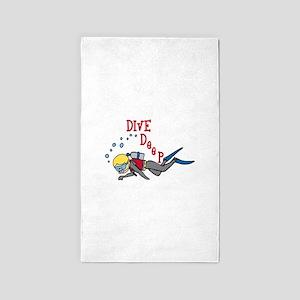 Dive Deep 3'x5' Area Rug