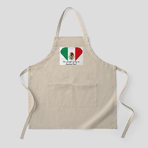 Mexico fan flag BBQ Apron