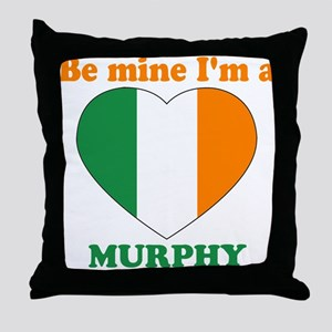 Murphy, Valentine's Day Throw Pillow