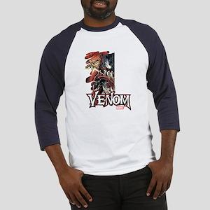Venom Half Baseball Jersey
